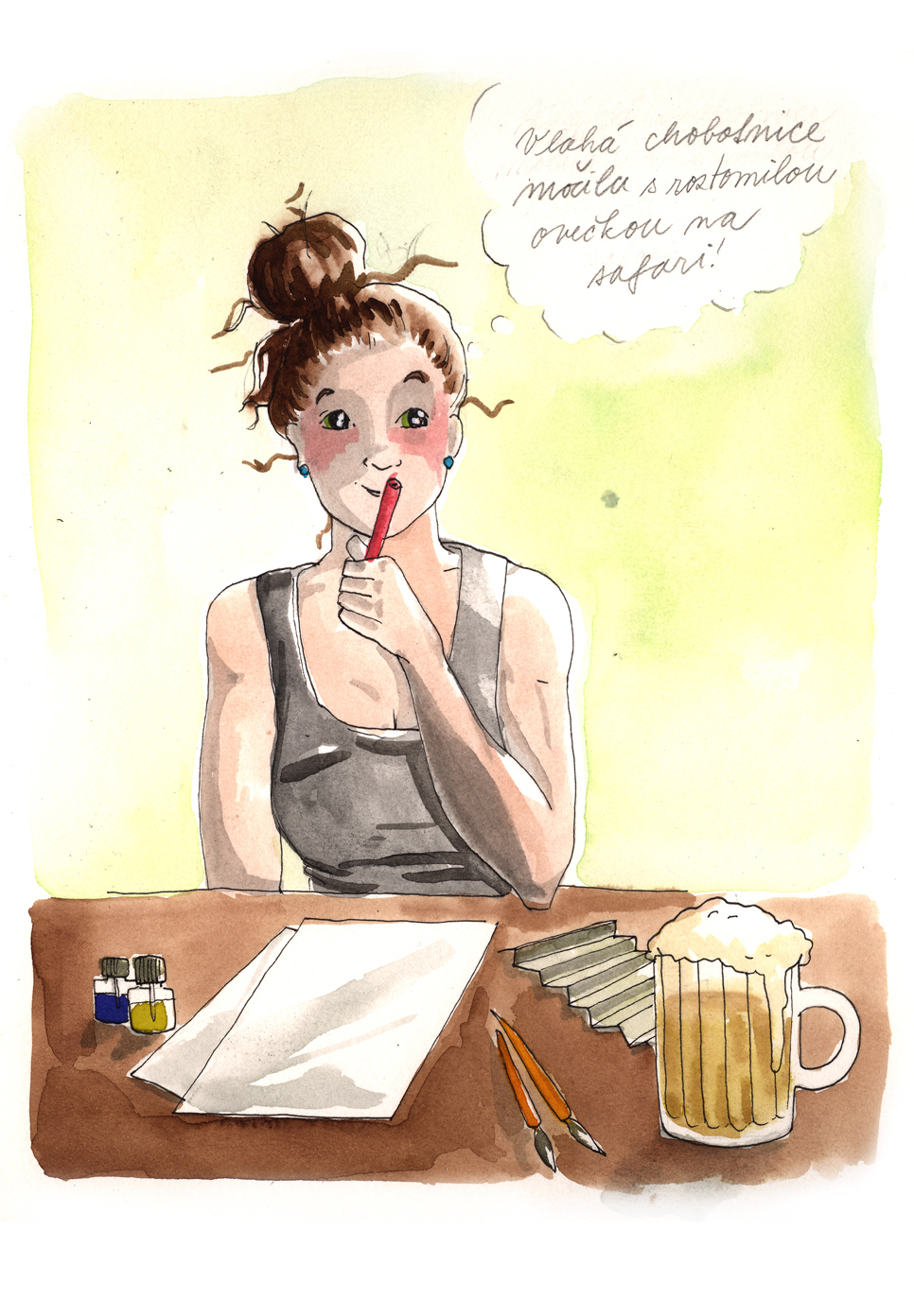 12 Srpna H O C Blog Lusym Com Illustrated Originals